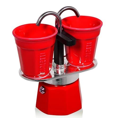Bialetti Set Mini Express with 2 Espresso Cups – Best Travel Moka Pot