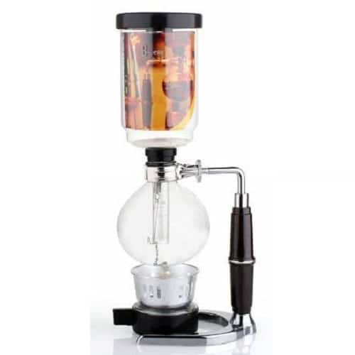 DecentGadget Coffee Syphon/Vacuum Glass Coffee Maker