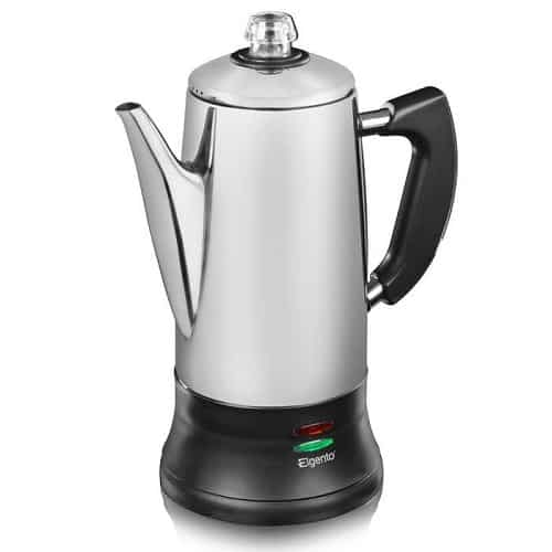 Elgento E011/MO 12 Cup Stainless Steel Coffee Percolator