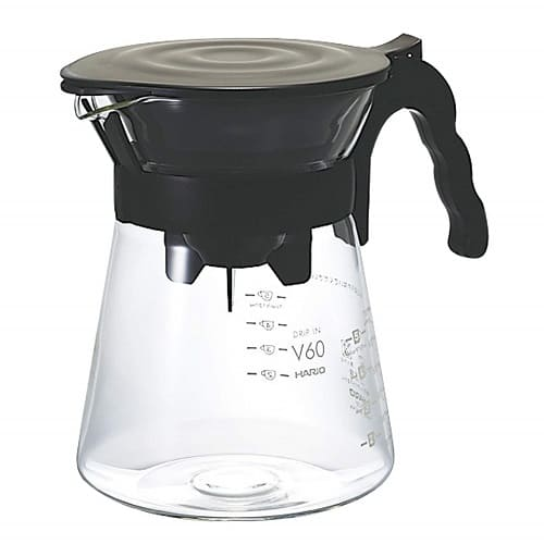 Hario V60 Glass Drip in Pour-Over Coffee Set