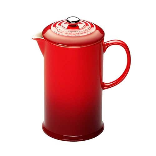Le Creuset Stoneware Cafetière – Best for Colour Choices