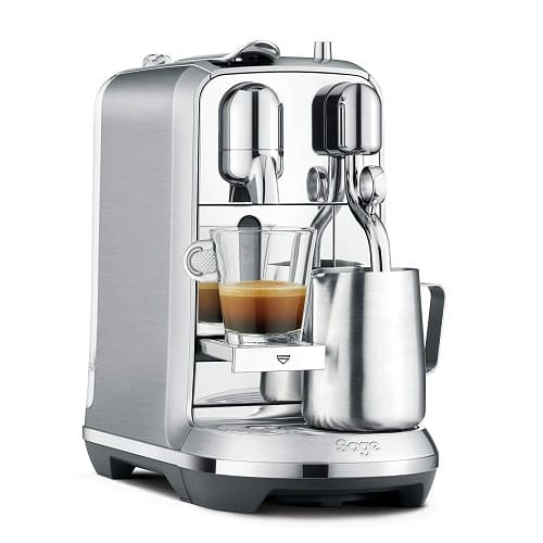 Nespresso Creatista Plus by Sage – Best High End
