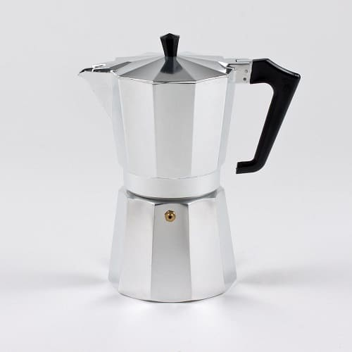 Pezzetti Stove-Top Moka Espresso Italian-Made Coffee Maker Moka Pot