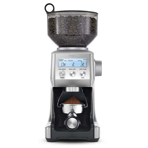 Sage BCG820BSSUK the Smart Grinder Pro Coffee Grinder – Best Overall