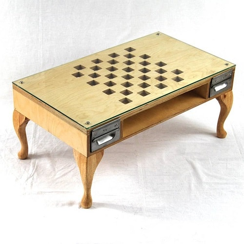 Cut Out Chess/Coffee Table