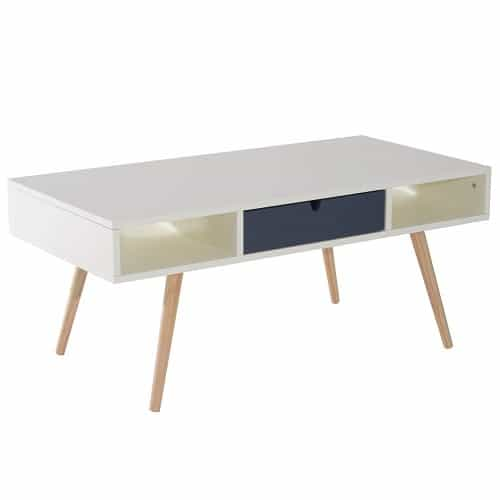 HOMCOM Wooden Coffee Table