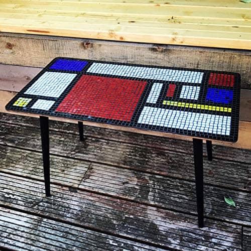 Mondrian 2 Mosaic Vintage Coffee Table