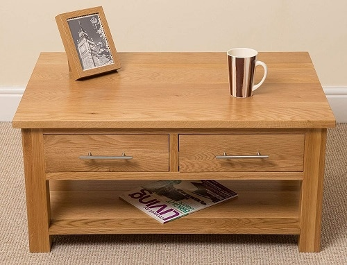 Oslo Solid Oak Coffee Table