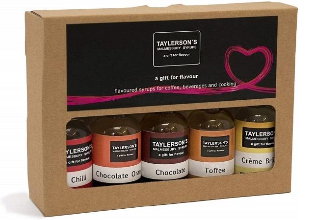 Taylersons Coffee Lovers Syrups Taster Set
