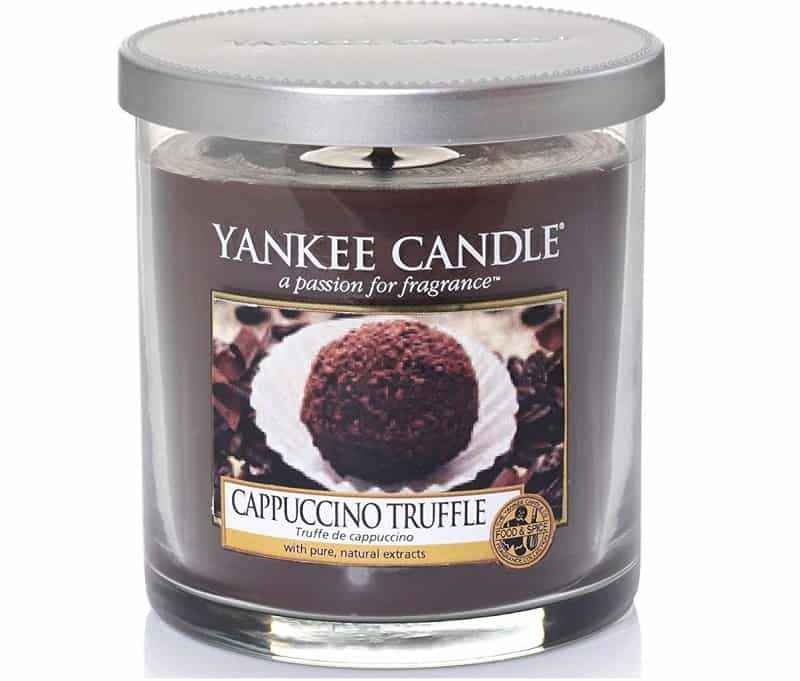Yankee Candle Cappuccino Truffle Small Pillar Candle