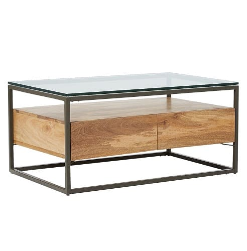 west elm Industrial Storage Box Frame Coffee Table