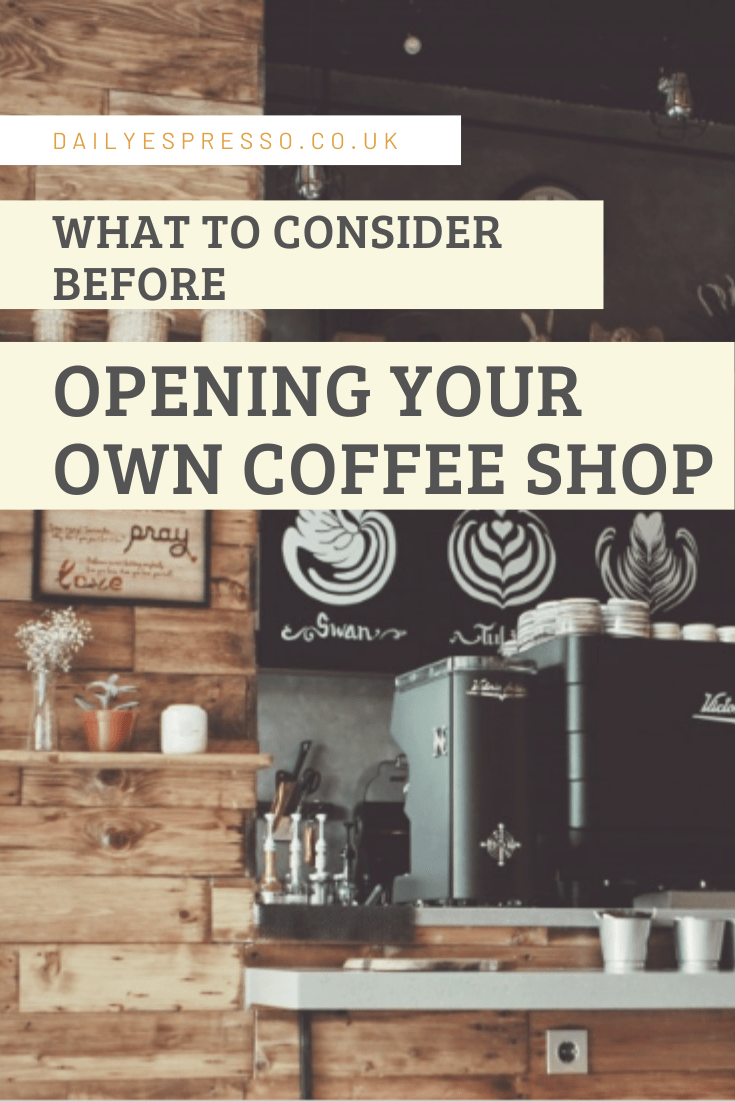 what to consider before starting a coffee shop