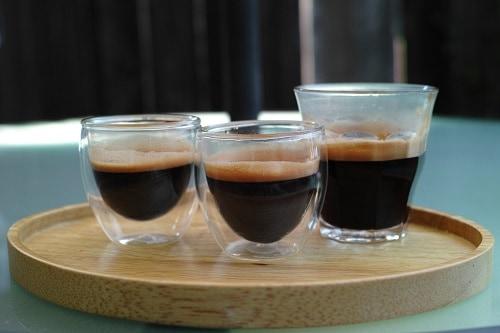 Ristretto Lungo and Espresso