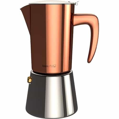 bonVIVO Intenca Stove Top Italian Espresso Maker