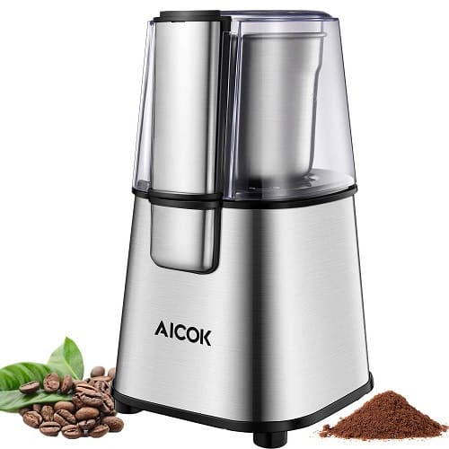 AICOK Electric Coffee Grinder