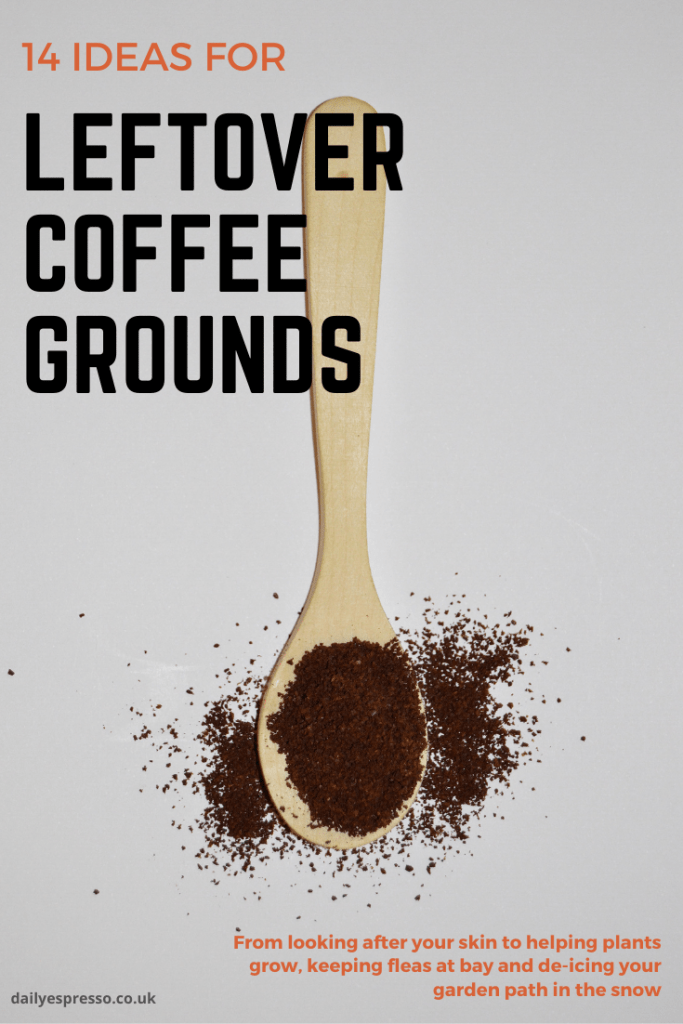 14 ideas for leftover coffee grounds