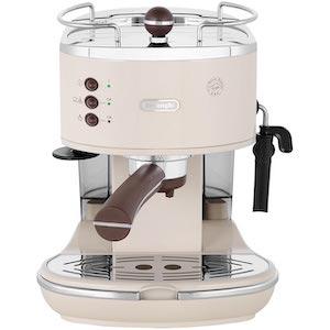 De'Longhi Icona Vintage ECOV311.BG Espresso Coffee Machine - Cream