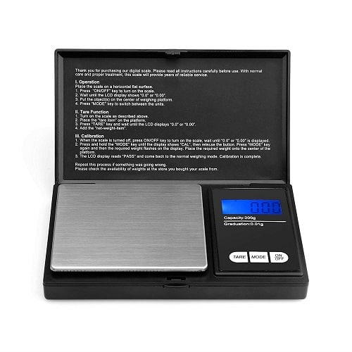 Ascher Pocket Digital Scale – Best Portable