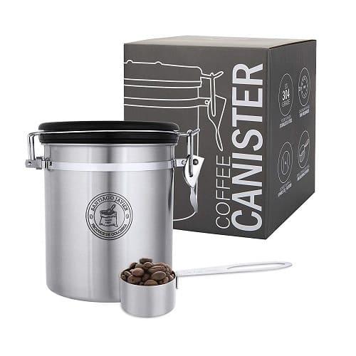 Santiago Javier Coffee Storage Canister