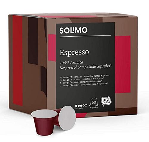 Solimo Nespresso Compatible Espresso