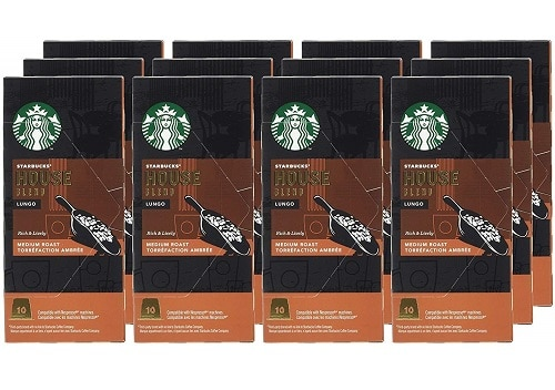 Starbucks® House Blend Nespresso Compatible Capsules