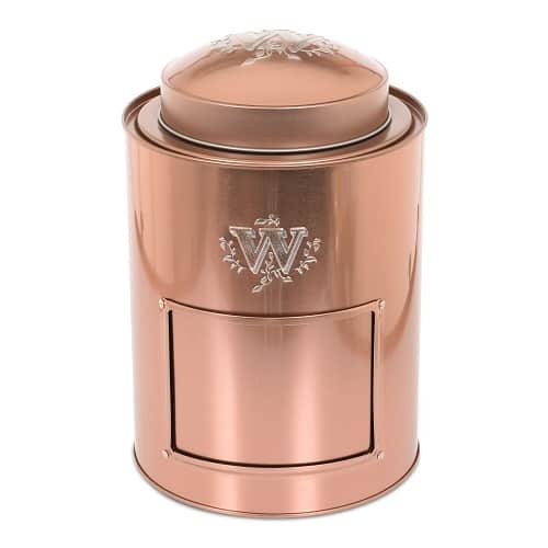 Whittard Large Copper Coffee Caddy