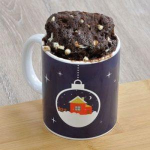 Christmas Eve Box Chocolate Mug Cake Kit