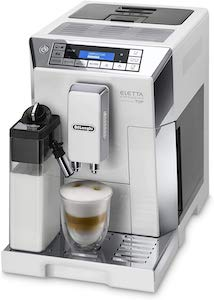 De'Longhi Eletta Cappuccino, Fully Automatic Bean to Cup Machine, Espresso, Coffee Maker, ECAM 45.760.W