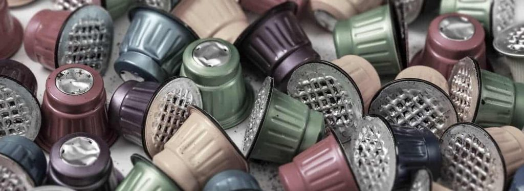 Used Coffee Pods and their impact on the environment