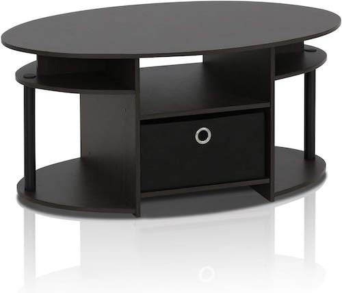Furinno Oval Coffee Table