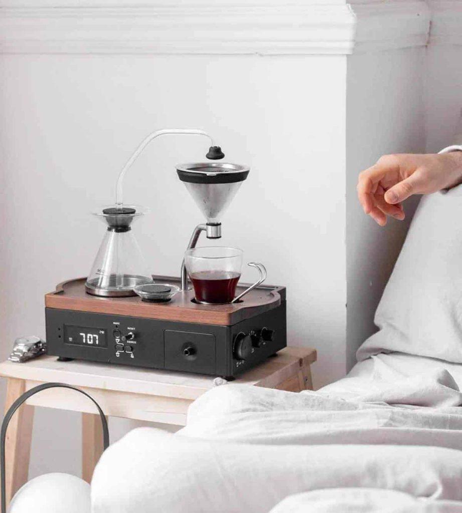 Coffee Making Alarm Clock