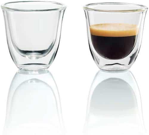 De'Longhi Espresso Thermo Glasses