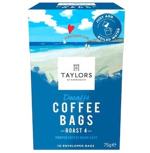 Taylors of Harrogate Decaffé Coffee Bags