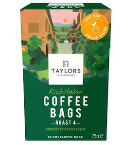 Taylors of Harrogate Rich Italian Coffee Bags