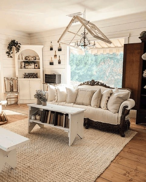 rustic decor for living room