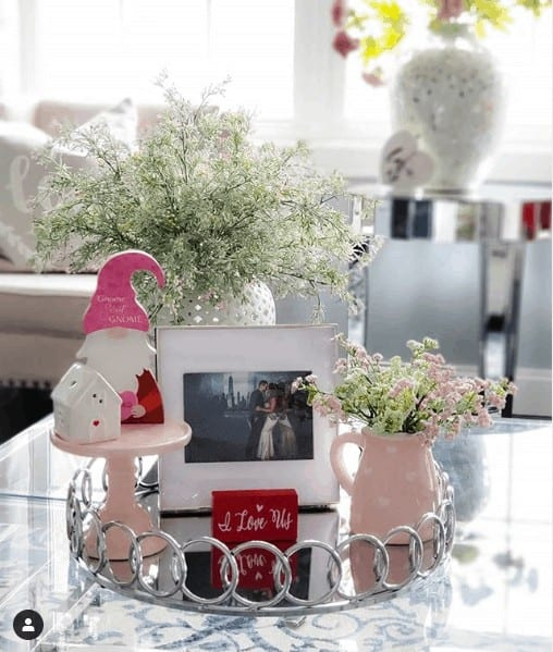 personal decor for coffee table