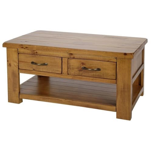 Argos Home Arizona Solid Pine Coffee Table