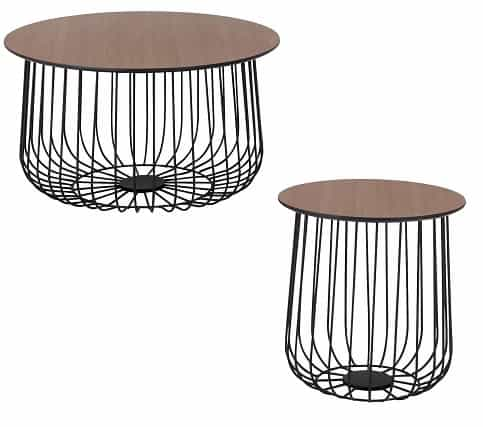 Argos Home Wire Frame Bird Cage Coffee and Side Tables
