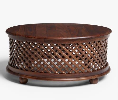 ThaiRattanandBamboo Handmade Kantok Bamboo Rattan Table