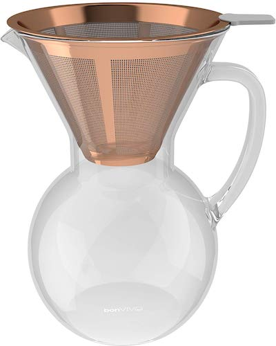 bonVIVO Aldrono Pour Over Coffee Machine