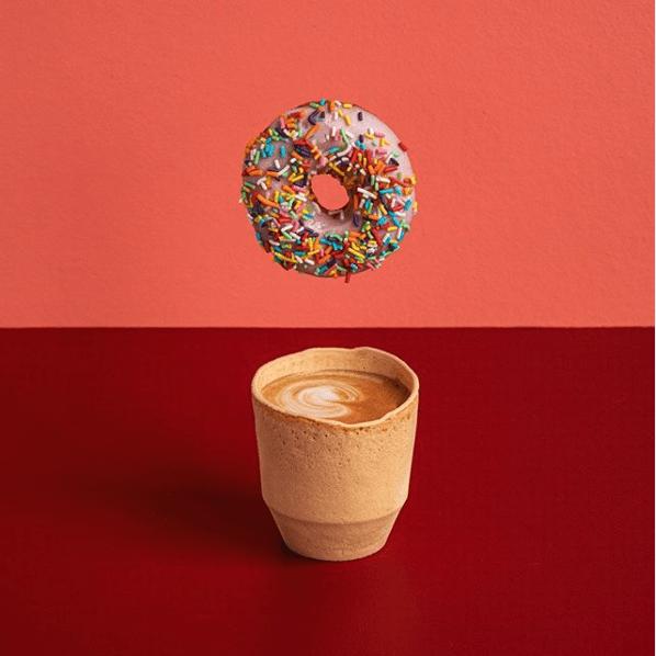 twiice edible coffee cup