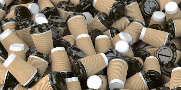 single use coffee cup waste crisis
