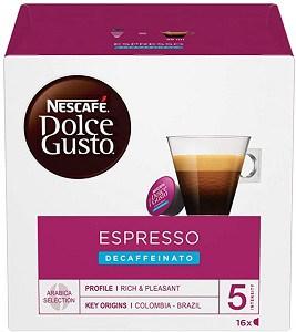 NESCAFÉ Dolce Gusto Espresso Decaf Coffee