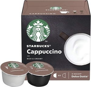 Starbucks Cappuccino By Nescafe Dolce Gusto Coffee Pods