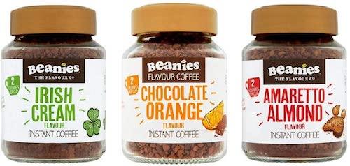 Beanies Flavoured Instant Coffee Jars