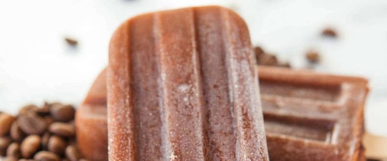 Iced Coffee Popsicles