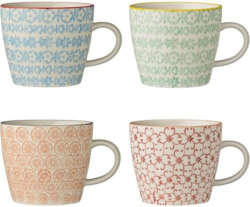 Bloomingville Carla Mugs 4 Set