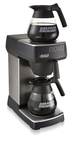 Bravilor Manual Fill Filter Coffee Machine Novo
