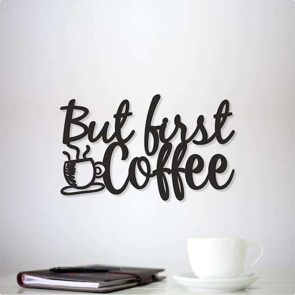 Coffee Wooden Sign for Wall Decor