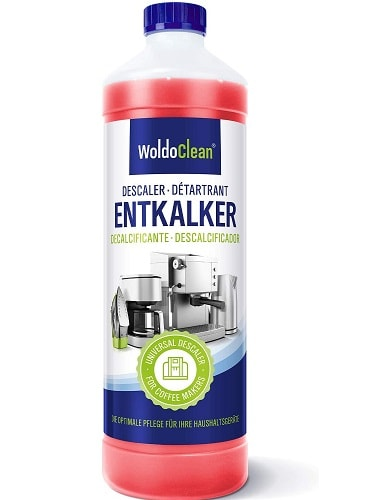 WoldoClean Descaler for Coffee Machine and Kettle